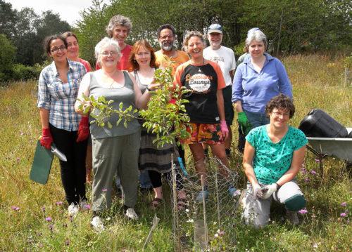 Trumpington Orchard visit - group photo
