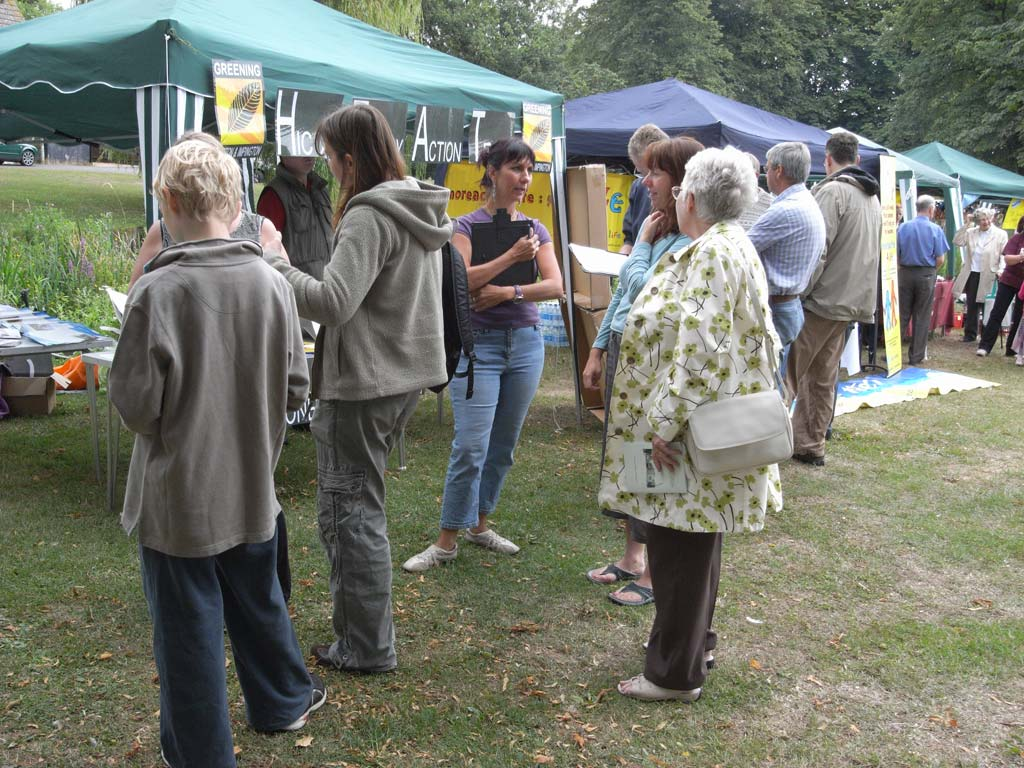 HICCA stand at Histon Feast